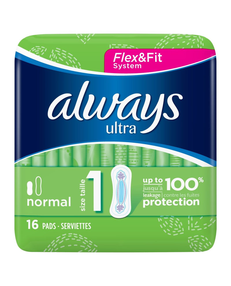 Ultra Normal (Size 1) Sanitary Towels