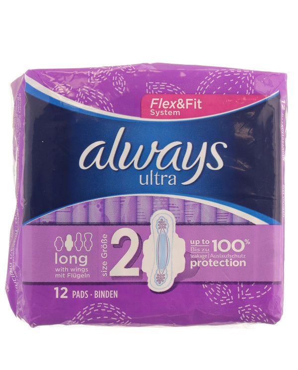 ALWAYS Ultra Long Sanitary Towels with Wings