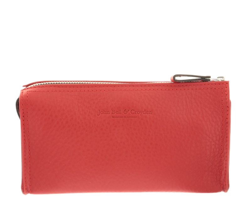 JOHN BELL & CROYDEN Unisex Toiletry Bag - Red