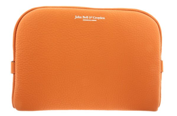 JOHN BELL & CROYDEN Unisex Slim Wash Bag - Orange