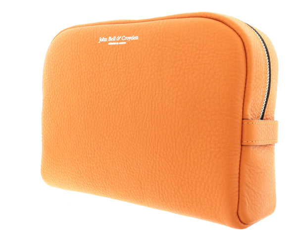 Unisex Slim Wash Bag - Orange