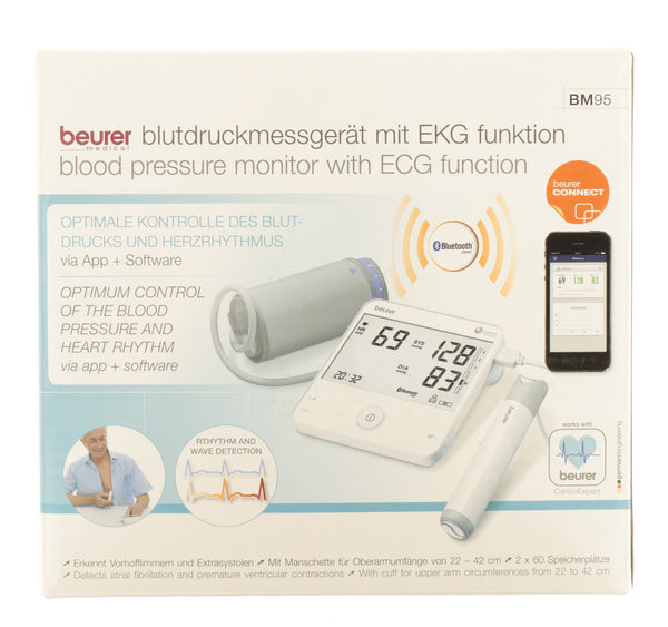 BEURER Blood Pressure Monitor And ECG BM95