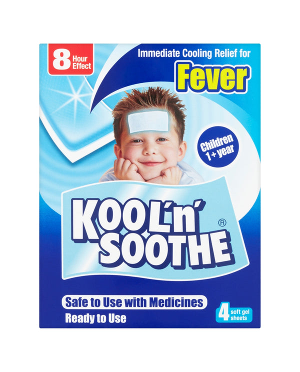 KOOL'N'SOOTHE Soft Gel Sheets for Children (Years 1+)