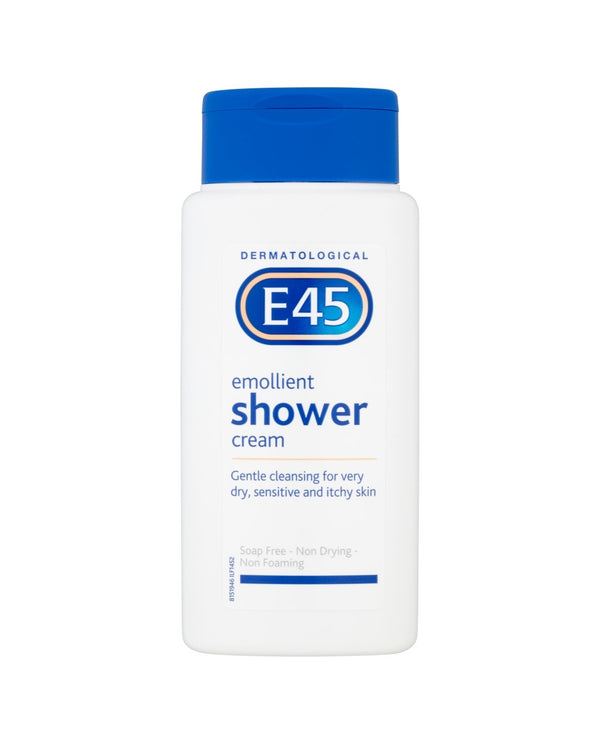 E45 Dermatological Emollient Shower Cream