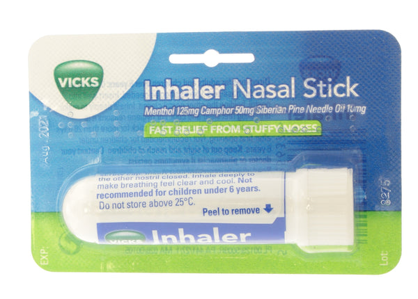 Inhaler Nasal Decongestant Stick