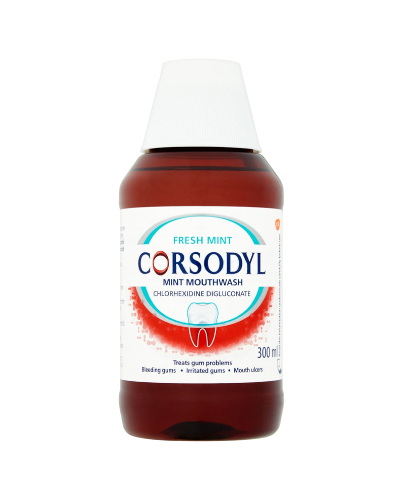 CORSODYL Corsodyl Gum Disease Treatment Mouthwash Chlorhexidine 0.2% Mint