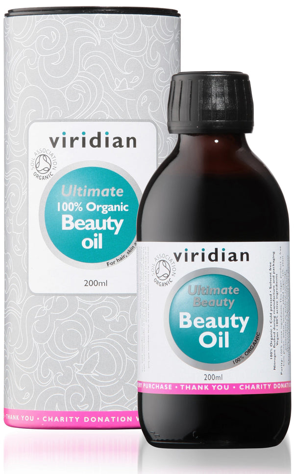 VIRIDIAN Organic Ultimate Beauty Oil