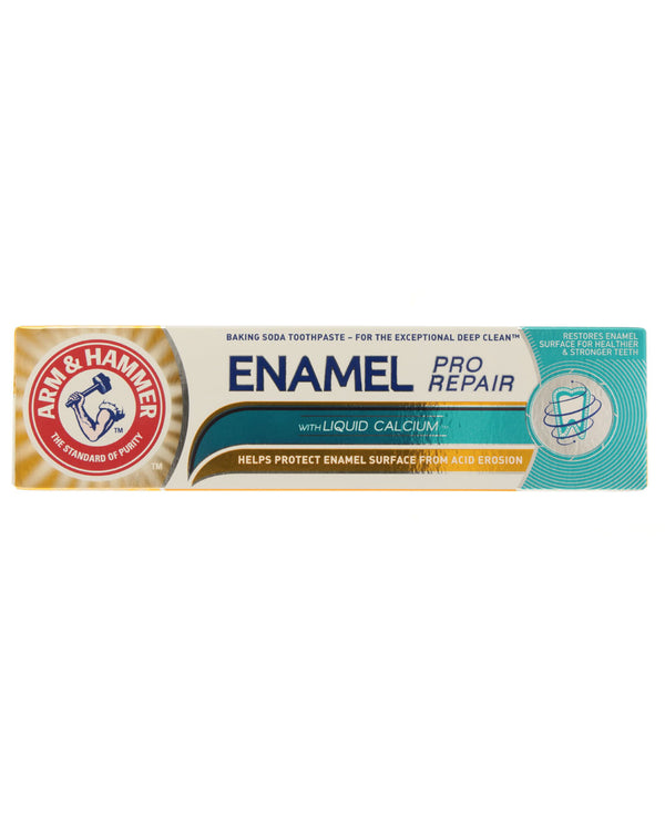 ARM & HAMMER Enamel Pro Repair with Liquid Calcium Baking Soda Toothpaste