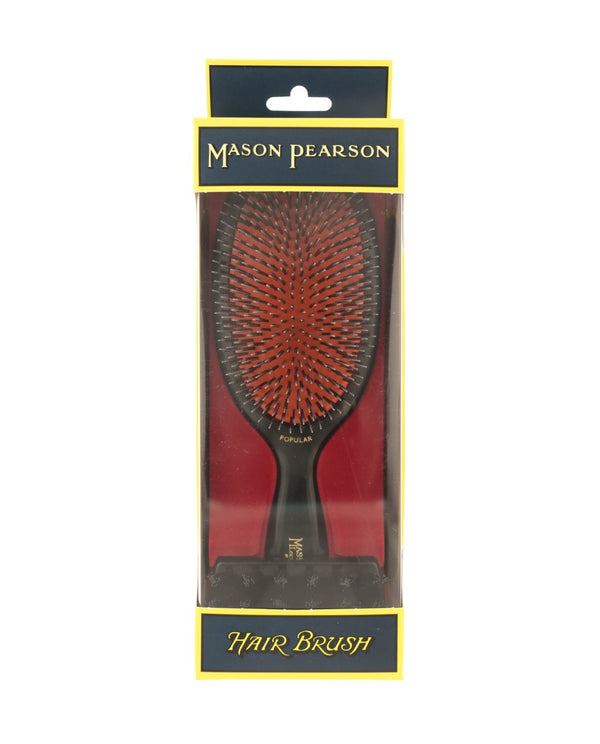 "Large ""Popular"" Bristle & Nylon Hairbrush BN1"
