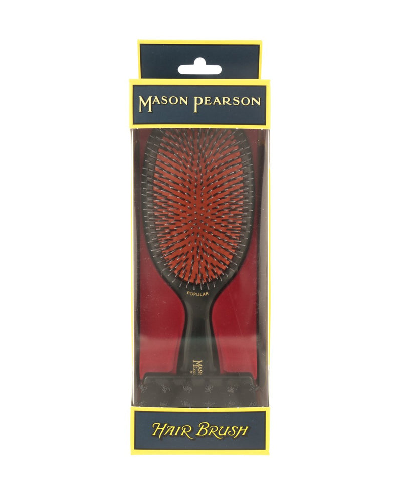 "MASON PEARSON Large ""Popular"" Bristle & Nylon Hairbrush BN1"