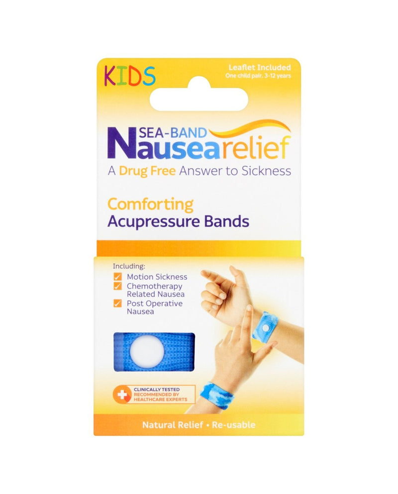 Nausearelief Child Comforting Acupressure Bands 3-12 Years