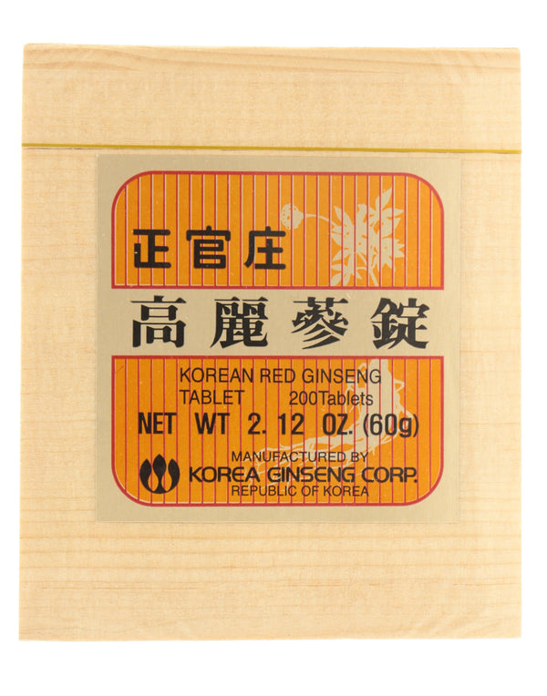KOREAN RED GINSENG Tablets