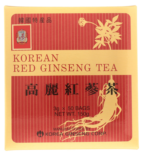 KOREAN RED GINSENG Korean Red Ginseng Tea