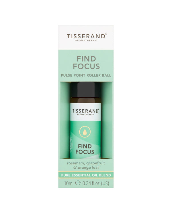 Tisserand Aromatherapy Find Focus Pulse Point Roller Ball