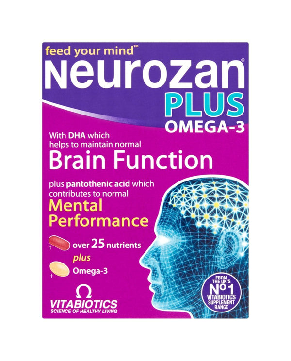 VITABIOTICS Neurozan Plus Omega-3
