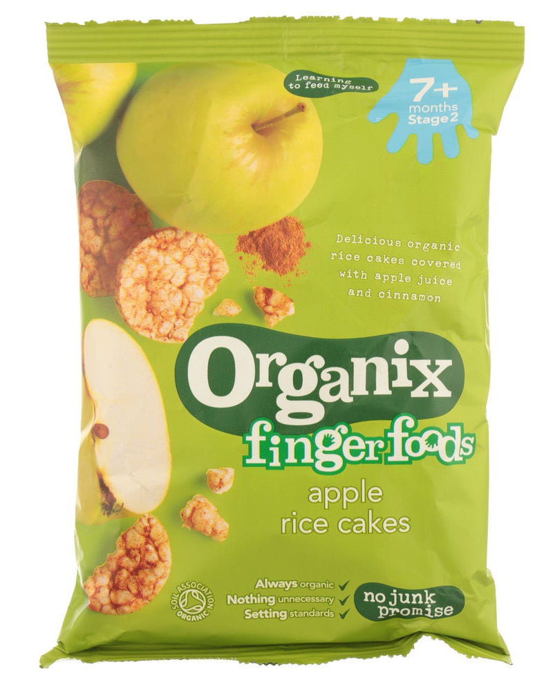 ORGANIX Fingerfoods Apple Rice Cakes 7+ Months