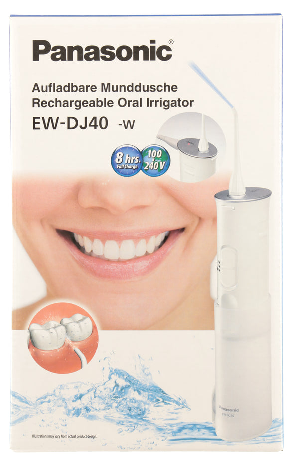 PANASONIC Rechargeable Travel Oral Irrigator EW-DJ40