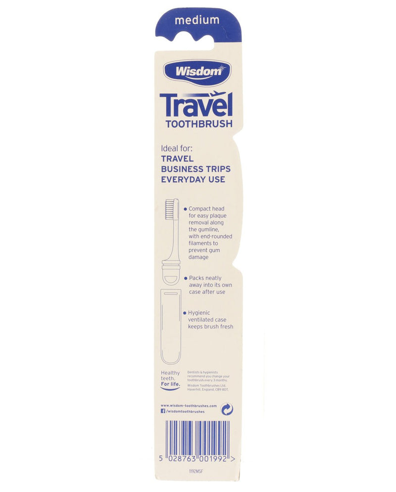 Travel Toothbrush Medium