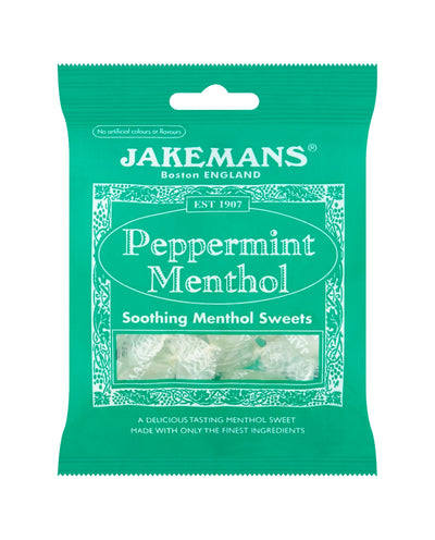Peppermint Menthol Soothing Menthol Sweets