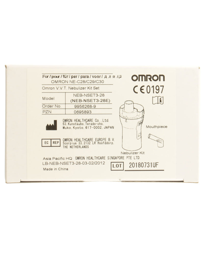 OMRON VVT Nebuliser Kit