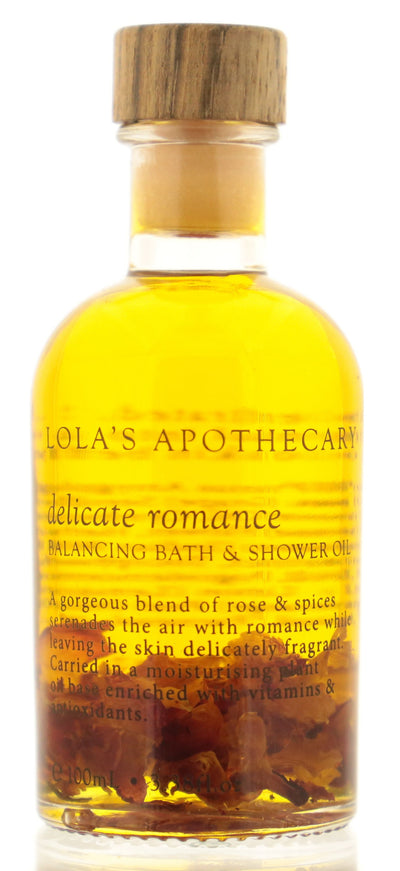 LOLA'S APOTHECARY Delicate Romance Balancing Bath & Shower Oil