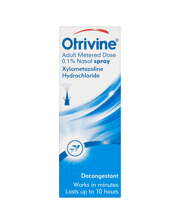 OTRIVINE Adult Metered Dose 0.1% Nasal Spray