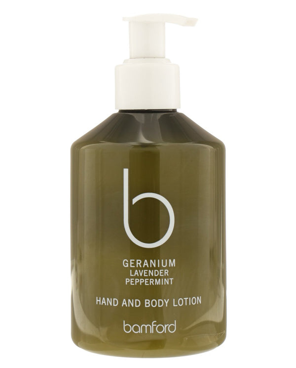 BAMFORD Geranium, Lavender & Peppermint Hand and Body Lotion
