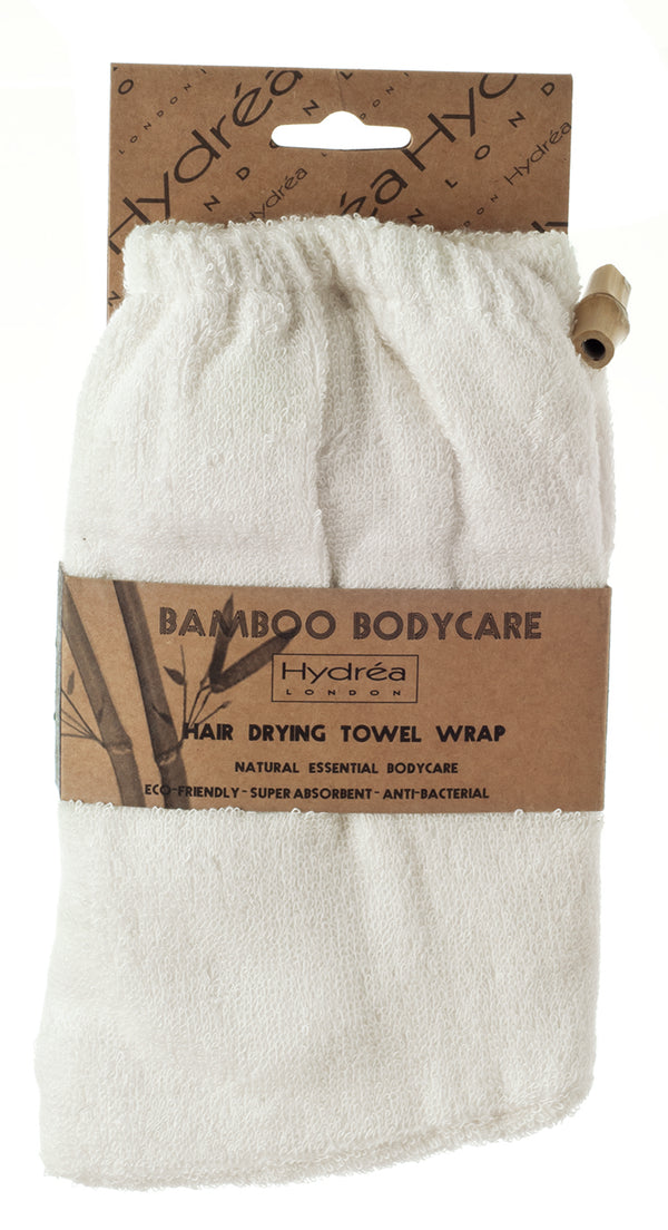 HYDRÉA LONDON Bamboo Super Absorbent Hair Drying Towel Wrap