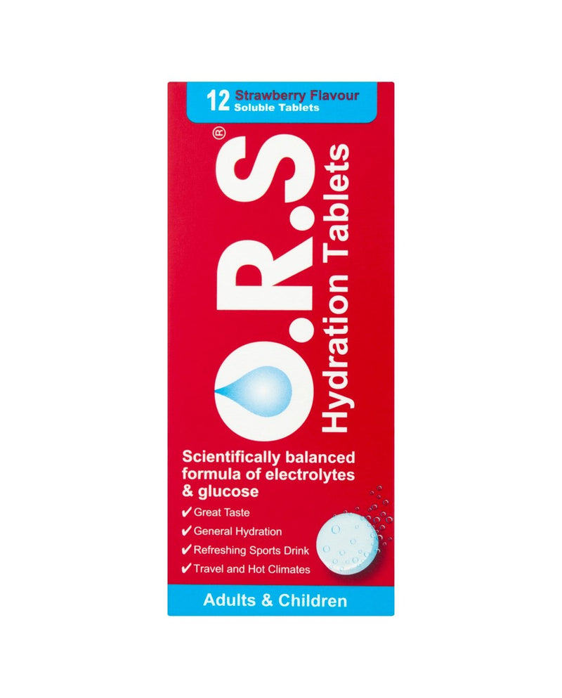 Hydration Tablets Adults & Children Strawberry Flavoured