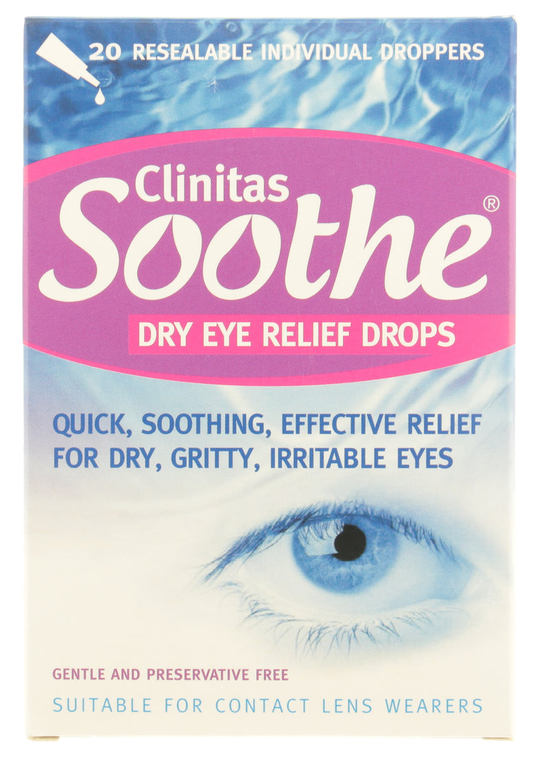 CLINITAS Soothe Dry Eye Relief Drops