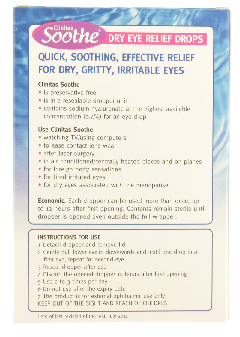 Soothe Dry Eye Relief Drops