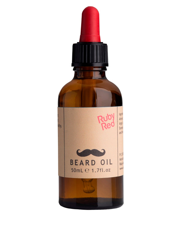 RUBY RED Beard Oil - Spearmint and Bourbon Vanilla