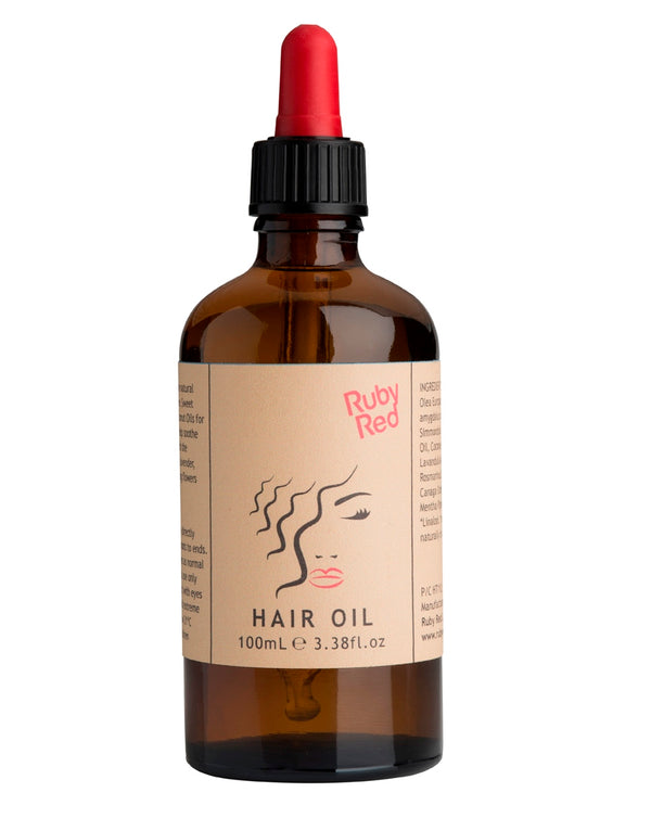 RUBY RED Hair Oil Treatment- Lavender and Peppermint