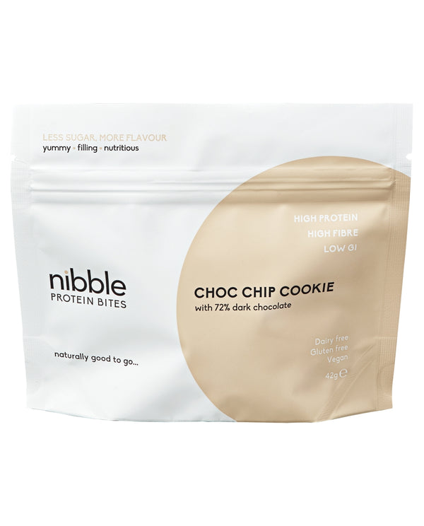 NIBBLE Choc Chip Cookie Protein Bites
