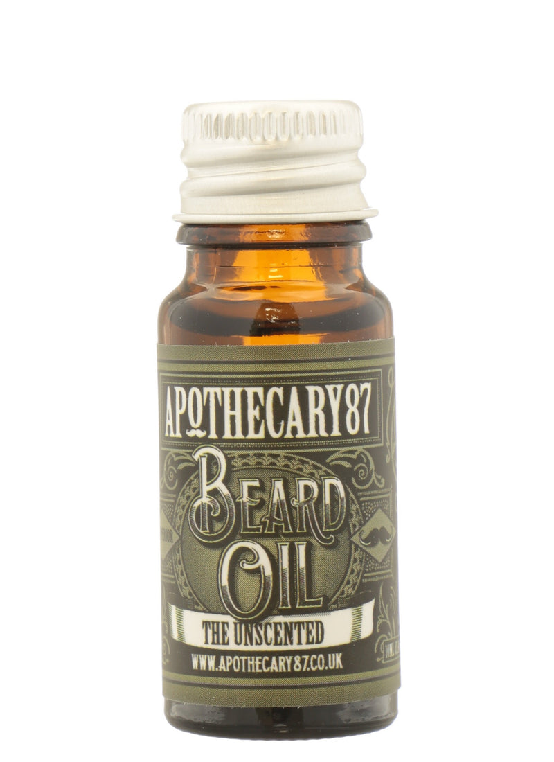 APOTHECARY 87 Beard Oil - The Unscented