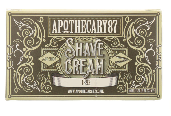 Shave Cream - An 1893 Fragrance