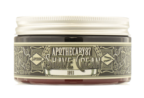APOTHECARY 87 Shave Cream - An 1893 Fragrance