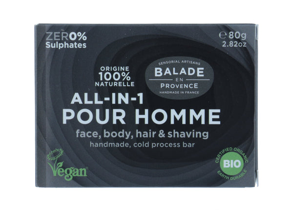 BALADE EN PROVENCE All-In-1 Soap Bar For Men