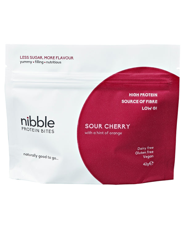 NIBBLE Sour Cherry with a Hint of Orange