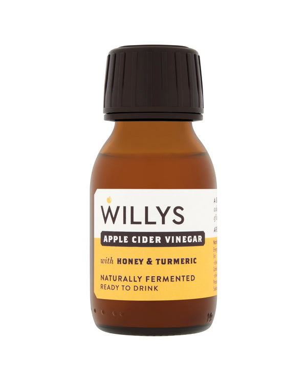 WILLY'S Apple Cider Vinegar with Honey & Turmeric