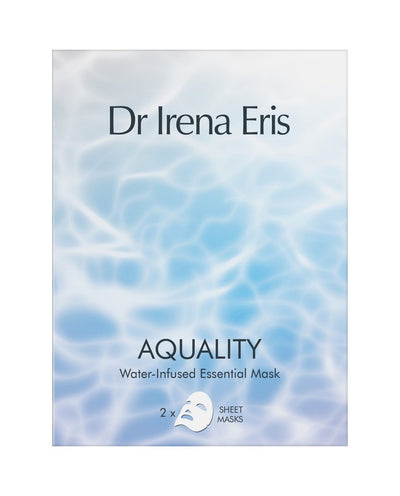 DR IRENA ERIS Aquality Water-Infused Essential Mask Instant Skin Hydration and Rejuvenation
