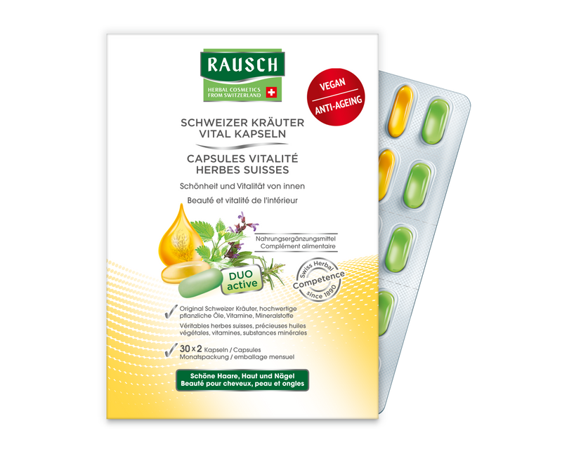 RAUSCH Swiss Herbal Vitality Capsules