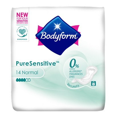 BODYFORM Pure Sensitive Ultra Sanitary Towels