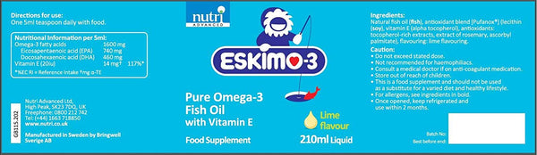 Eskimo®-3 Fish Oil Liquid