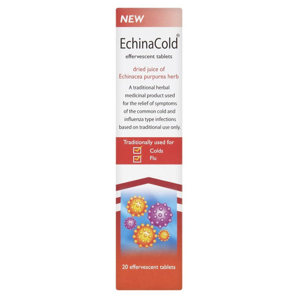 Echinacea Cold & Flu Relief Effervscent Tablets