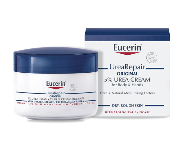 EUCERIN Urea Repair Original 5% Urea Cream for Body and Hands