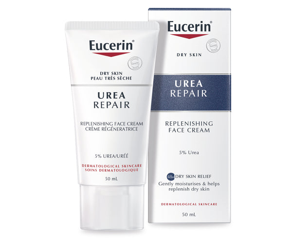 EUCERIN Urea Repair Replenishing Face Cream 5% Urea