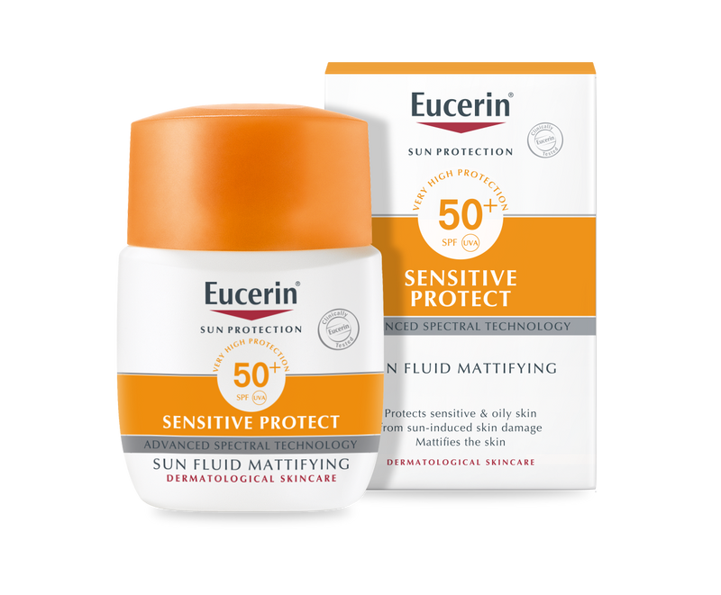 EUCERIN Sensitive Protect Sun Fluid Mattifying SPF50+
