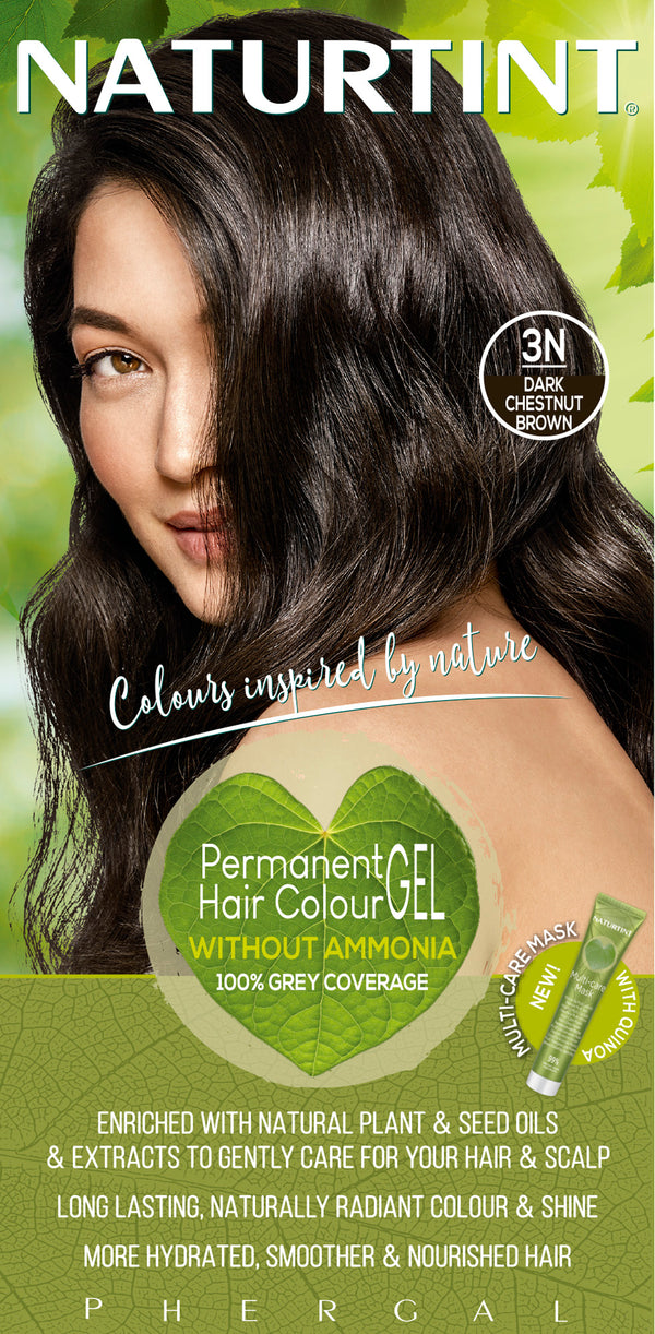 NATURTINT Naturally Better Permanent Hair Colour- Dark Chestnut Brown