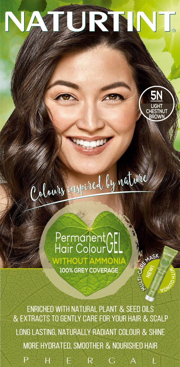 NATURTINT Naturally Better Permanent Hair Colour- Light Chestnut Brown